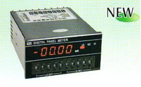 四位半数字显示带上中下限设定直流电压表头