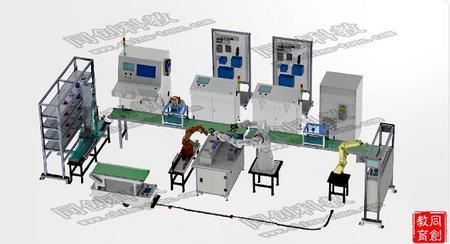工业型智慧工厂实训系统TC-FSA-X(协作机器人版)