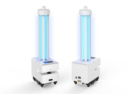 锐曼 消毒机器人  紫外线消毒  可灭新冠病毒/自主移动/自动充电/可上下电梯