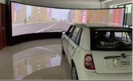 ErgoSIM人机共驾智能驾驶模拟器系统