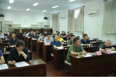 海淀区学校后勤管理中心召开课题汇报会