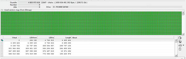 硬盘物理坏道严重,无法考出数据