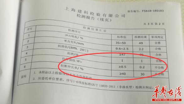 邵东一学校新建跑道严重脱层起泡