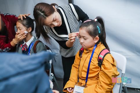 小音咖·童声合唱团为2019上海国际马拉松唱响天籁之音