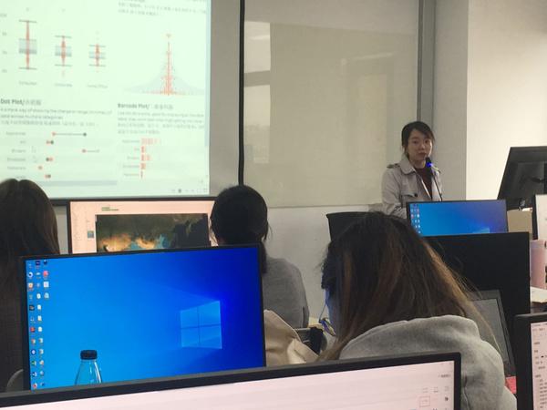Tableau 軟件培訓在上海財經大學圓滿結束