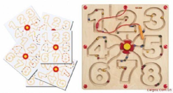 磁铁笔迷宫游戏