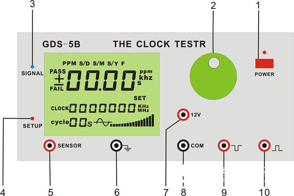 电子秒表日差检定仪