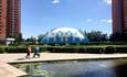 """?怡海""""藍""""— 京城四環最時尚的氣膜恒溫泳池"""