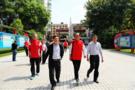 中国足球名宿辅导团走进三台中学