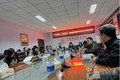 河北民族师范学院党委书记苏国安与学生代表座谈