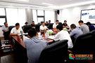 安徽科技学院领导出席龙湖校区文明校园创建工作推进会