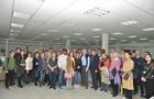 世界包装组织理事国成员参观访问济南兰光机电技术有限公司