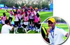 """2018""""哥德杯中国""""世界青少年足球赛落幕"""