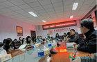 河北民族師范學院黨委書記蘇國安與學生代表座談