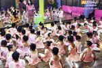 桔子树艺术五千人参加中国舞舞蹈考级 场面震撼