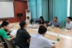宿州学院领导带领博士团队赴宿州当地企业开展调研交流合作活动