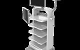 醫療臺車 多功能內窺鏡推車 腹腔鏡推車廠家 醫療設備集成推車