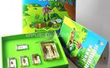 幼兒益智標本教具系列之——蝗蟲成長記