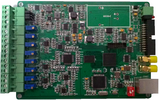高精度以太網同步數據采集卡 8路24位105KS 8路DI 8路DO