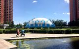"""?怡海""""蓝""""— 京城四环最时尚的气膜恒温泳池"""