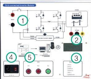 太阳能发电实践练习与基础实验练习平台