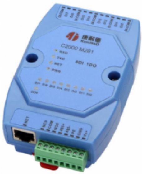 8路開關量轉TCP/IP網絡采集器