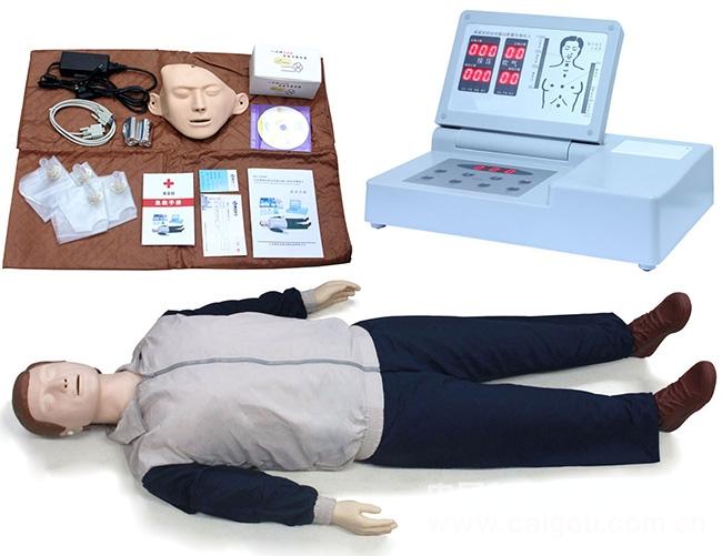 電腦心肺復蘇模擬人,現場急救訓練人體模型,cpr,人工呼吸橡皮人,假人