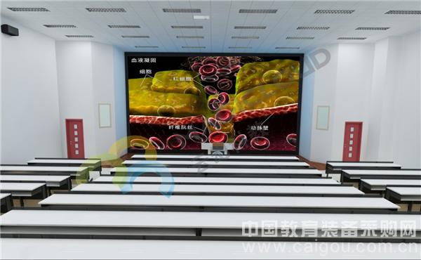 3DLED智能教室/3D多媒体教室/3D教室/3D智能教室/3D教育/3D教学