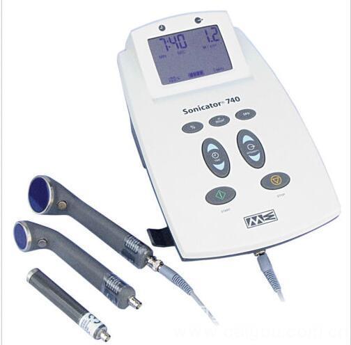 美國ME Sonicator 740(三探頭)雙頻超聲波治療儀