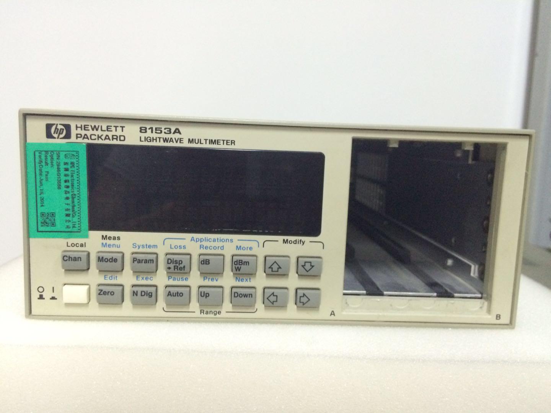 HP 8153A光波萬用表