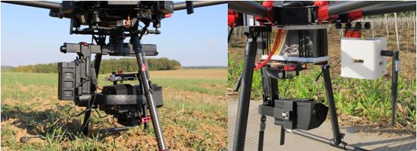 EcoDrone中波红外无人机遥感监测系统