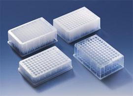 美国Axygen 原装96孔带裙边PCR板