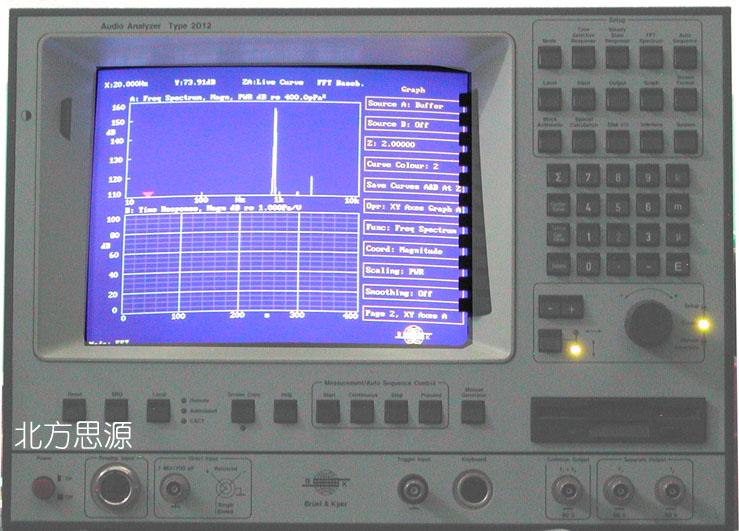 音频分析仪 TYPE 2012