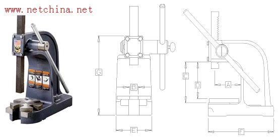 手动压力机/压力机