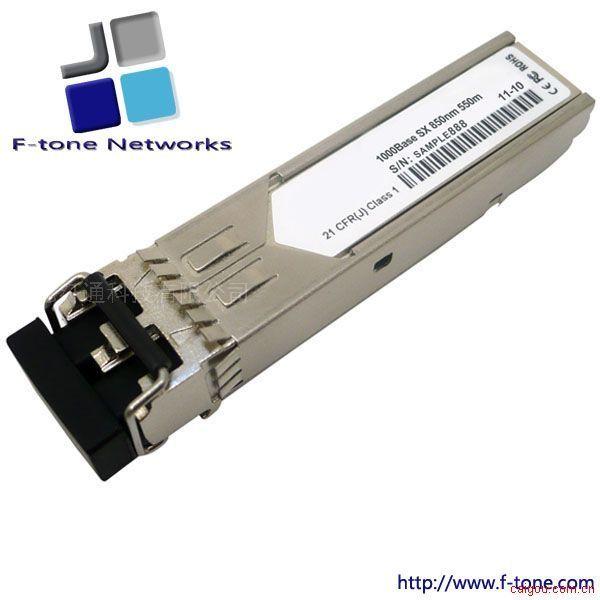 SFP,1000Base-SX千兆光模块,850纳米,多模550米,DDM