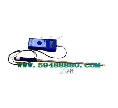 稻麦草废纸水分仪(60cm探针) 型号:JUDFD-G2