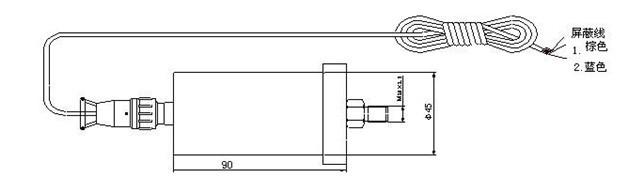 航振牌一体化振动变送器的参数与价格
