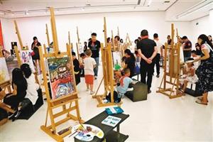 西安少儿美术 公共教育蓬勃发展