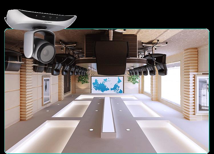 USB视频会议摄像头1080P高清/广角会议摄像机360度旋转