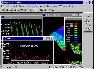 AQUASEA | 通用地表水与污染物运移模拟软件