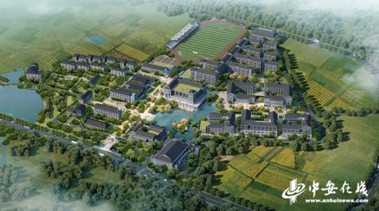 改建后的黄麓师范学校将于11月交付使用